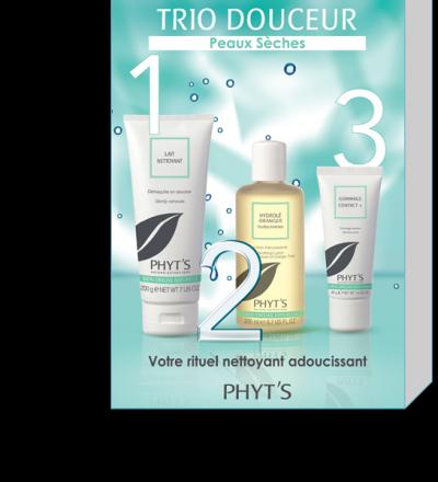TRIO DOUCEUR – 3 STEPS FOR DRY SKIN