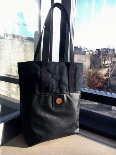 The Atlantic Equipment Project AE All Black Tote