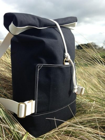 The Atlantic Equipment Project Monochromatic Canvas Rolltop Backpack