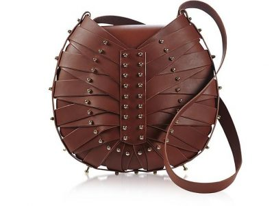 Una Burke Merlot Heart Bag