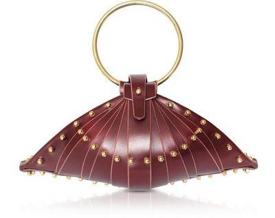 Una Burke Merlot Shell Bag