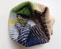 Wild Cocoon Shore Line Cowl in Greenery