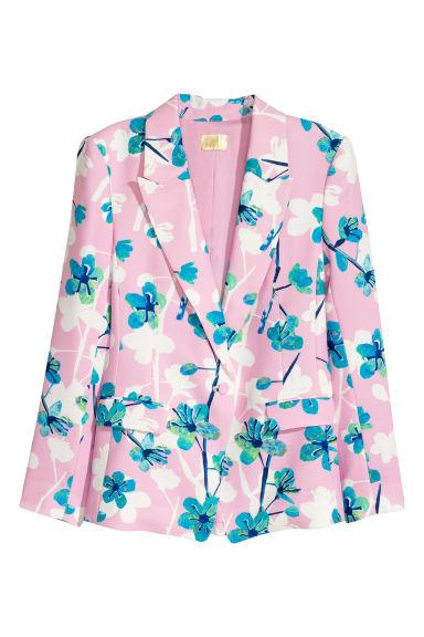 HM Fitted jacket Floral