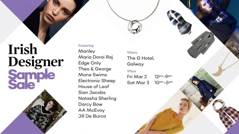 Irish Designers Sample Sale in Galway