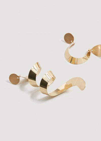 Mango Spiral earrings
