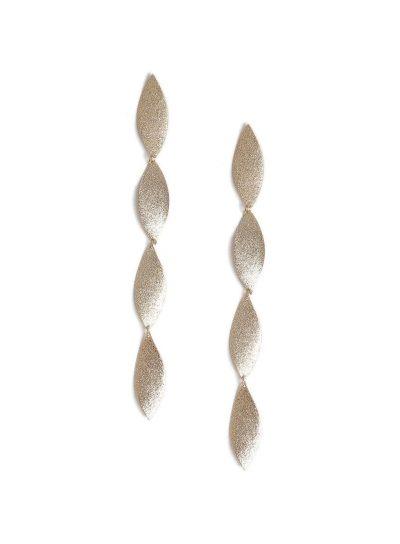 Miss Selfridge Sandblast Twirl Earrings