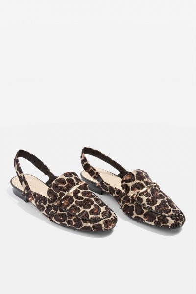 TOPSHOP Lemonade Slingback Loafers