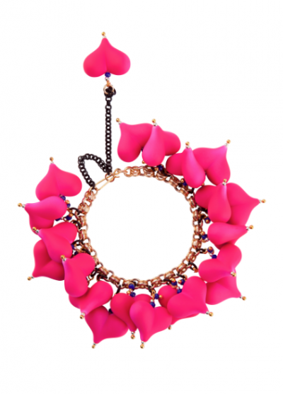 Melissa Curry Queen oh Hearts Bracelet