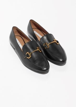 & Other Stories Horsebit Buckle Loafers