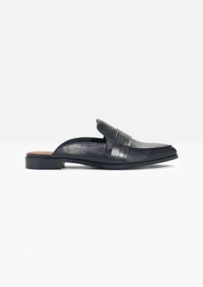 & Other Stories Slipper Leather Loafers