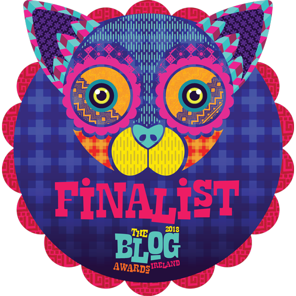 Finalist - Blog Awards Ireland 2018