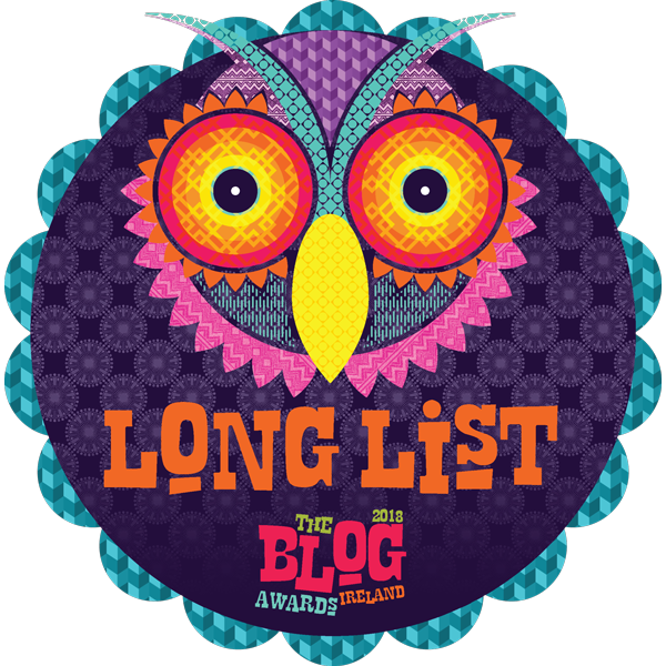 Longlisted for the Blog Awards Ireland 2018