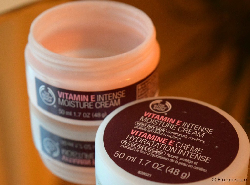The Body Shop Vitamin E Intense Moisturiser Floralesque Review
