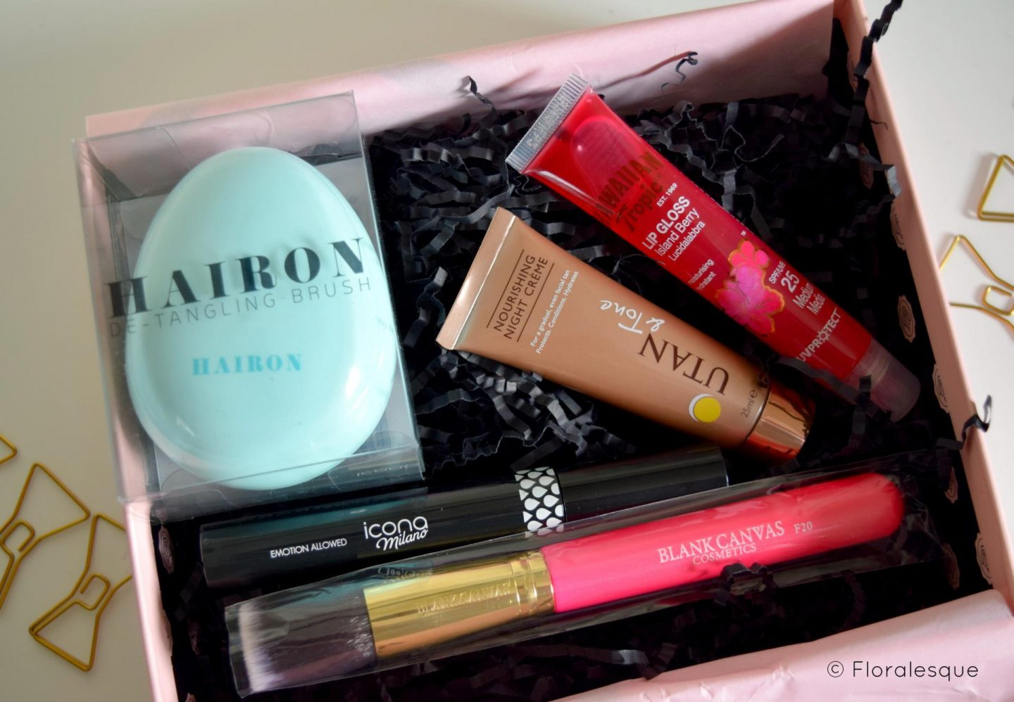 Glossybox Review. July 2016. Floralesque 1