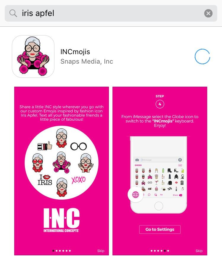 Iris Apfel Emojis are here and they are everything Floralesque 3